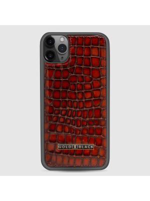 غطاء جوال ايفون 11 برو ماكس (ميلانو) - بني